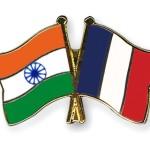 Flag Pins India France