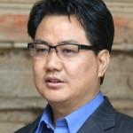 Kiren Rijiju interacts with Mizoram children