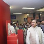 Mahesh Sharma inaugurates National Museum's Art Gallery at Udyog Bhawan Metro