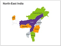 north east india state