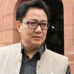 Govt making all efforts for development of Border Areas- Kiren Rijiju
