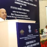 Thaawar Chand Gehlot addresses conference dealing with Disability Affairs