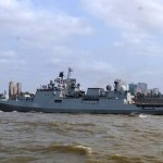 Visit of Indian Warship TRIKAND to Maputo, Mozambique