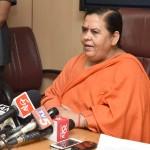Uma Bharti urges Spritual Institutions for Namami Gange success