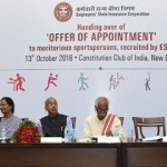 'Offer of Appointment' to Meritorious Sportsperson
