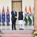 Shri Narendra Modi with PM of New Zealand, Mr. John Key