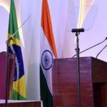 India-Brazil MOU signing ceremony