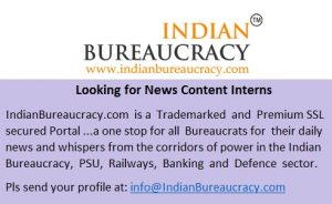 indianbureaucracy-looking-for-news-content-interns