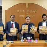 The Union Minister for Finance and Corporate Affairs, Shri Arun Jaitley releasing a 'Healthy India' Magazine, in New Delhi on November 09, 2016. The DGHS, Dr. Jagdish Prasad and other dignitaries are also seen.