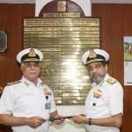 Vice Admiral GS Pabby takes Charge Chief of Materiel- Indian Navy