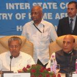 Rajnath Singh chairing 27th Southern Zonal Council meeting