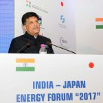 The Minister of State for Power, Coal, New and Renewable Energy and Mines (Independent Charge), Shri Piyush Goyal addressing the Indo-Japan Energy Forum 2017, in New Delhi on January 09, 2017.