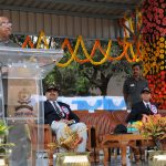 The Minister of State for Youth Affairs and Sports (I/C), Water Resources, River Development and Ganga Rejuvenation, Shri Vijay Goel addressing the gathering at Shaktiman - 35th all India police equestrian championship and mounted police duty meet, at Sardar Valla Bhai Patel National Police Academy, Hyderabad on January 02, 2017.