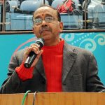The Minister of State for Youth Affairs and Sports (I/C), Water Resources, River Development and Ganga Rejuvenation, Shri Vijay Goel addressing at the inauguration of the Khelo India National Level Competitions, in New Delhi on January 15, 2017.