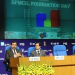 The Union Minister for Finance and Corporate Affairs, Shri Arun Jaitley addressing at the foundation day function of the Security Printing Minting Corporation of India Limited (SPMCIL), in New Delhi on February 17, 2017. 	The Secretary, Department of Economic Affairs, Shri Shaktikanta Das and other dignitaries are also seen.