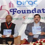 The Minister of State for Science & Technology and Earth Sciences, Shri Y.S. Chowdary releasing the publication at the inauguration of the 5th Foundation Day of Biotechnology Industry Research Assistance Council (BIRAC), in New Delhi on March 20, 2017. The Secretary, Department of Science & Technology, Prof. K. Vijay Raghavan and other dignitaries are also seen.