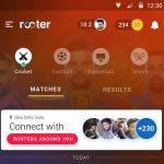 Rooter App Gujarat Lions Home (1)