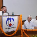 The Union Minister for Health & Family Welfare, Shri J.P. Nadda addressing at the inauguration of the 9-week foundation training course for new recruits of CHS, at the National Institute of Health & Family Welfare (NIHFW), in New Delhi on May 01, 2017.  The Minister of State for Health & Family Welfare, Shri Faggan Singh Kulaste, the Minister of State for Health & Family Welfare, Smt. Anupriya Patel and the Director General Health Services, Dr. Jagdish Prasad are also seen.