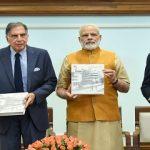 PM releases Platinum Jubilee Milestone book on Tata Memorial Centre