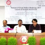 Suresh Prabhu releases third party audit report on station cleanliness -indianbureaucracy