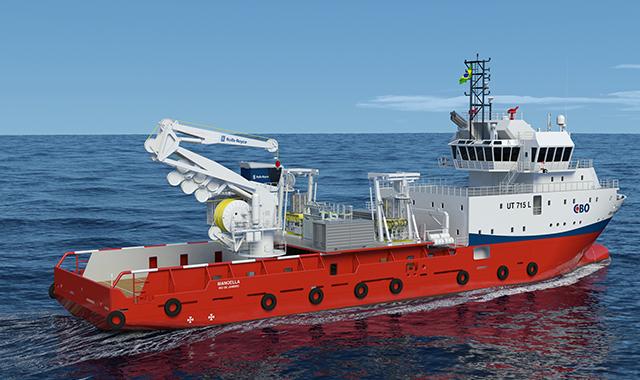first hybrid subsea crane