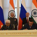 India, Russia sign Saint Petersburg Declaration