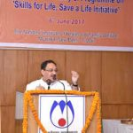 J P Nadda launches Skill for Life, Save a Life initiative