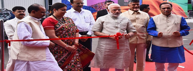 Modi inaugurating