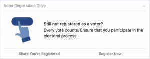 Voter Registration Reminder