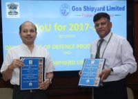 Department of Defence Production and GSL signed MoU -indianbureaucracy
