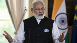 Modi holds