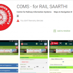Rail Saarthi App