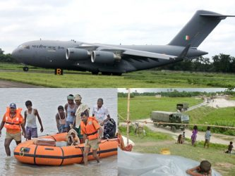 Army lends a helping hand in Bihar Floods