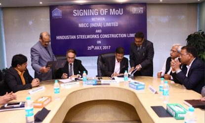 NBCC inks MoU