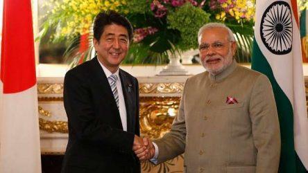 India, Japan sign