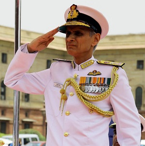 Vice Admiral Karambir Singh takes over as Flag Officer Commanding-in-Chief, ENC
