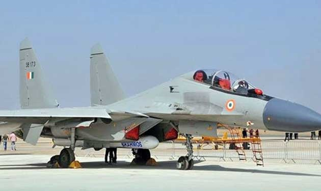 Brahmos Flight test from IAF Su-30MKI fighter aircraft