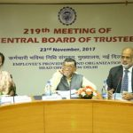 Central Board of EPFO Held