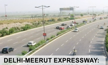 Delhi-Meerut Expressway Phase I to be ready next month