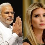 PM Modi ,Ivanka Trump
