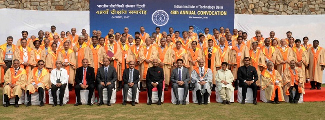 President at 48th annual convocation of the IIT Delhi
