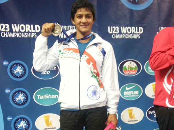 Ritu Bhogat bags silver at U-23 Senior World Wrestling Championship