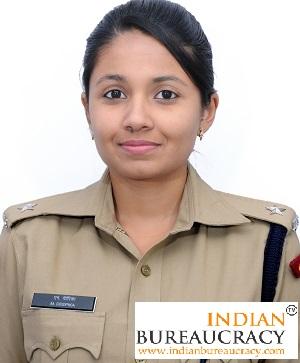 M Deepika IPS
