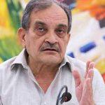 Steel Minister Birender Singh