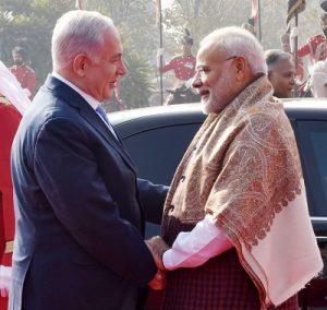Narendra Modi -Benjamin Netanyahu