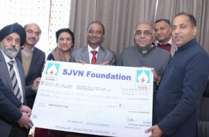 SJVN foundation