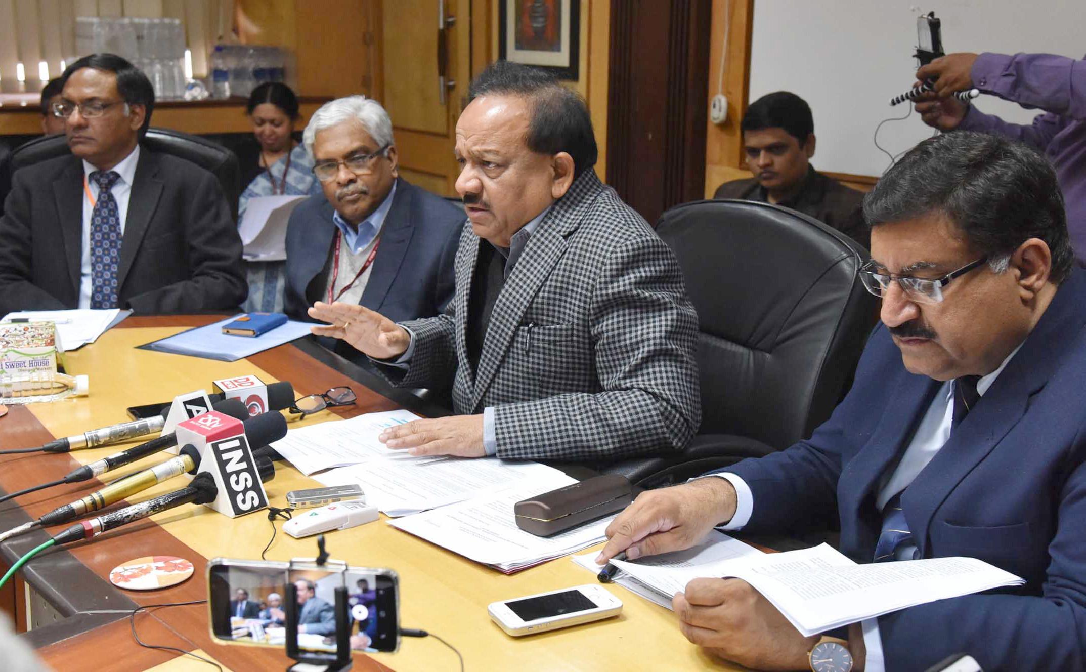 Union Minister Harsh Vardhan