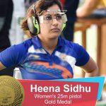 Heena Sidhu wins gold in 25m pistol | Commonwealth Games 2018
