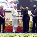 Milind Ramteke & Arun Bhattacharjee awarded on Civil Service Day