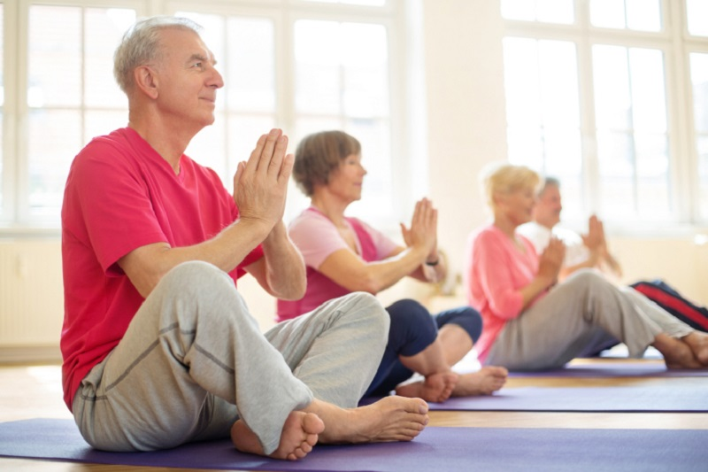 seniors stick to fitness routines